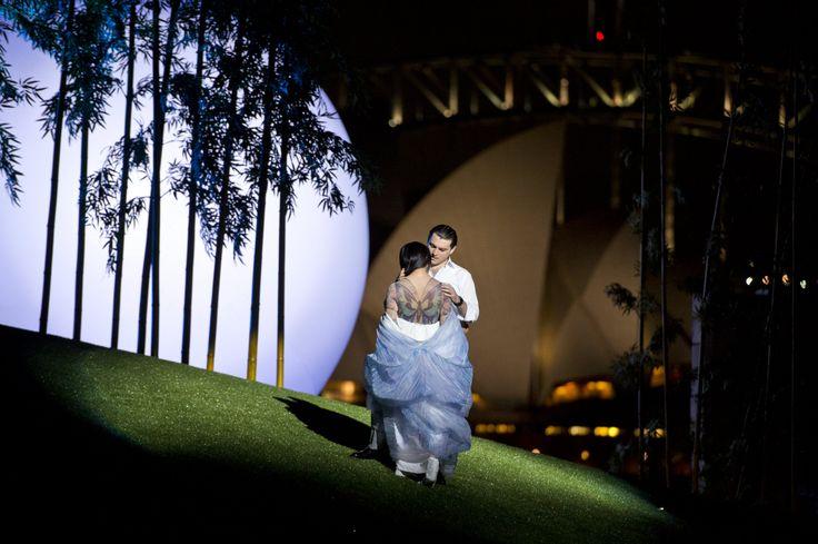 'Madama Butterfly' opera performance on Sydney Harbour
