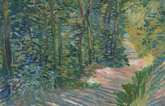 In this summer exhibition, Van Gogh's wooded views and landscapes are shown alongside those of Rousseau, Corot and other artists. Until 10 September 2017
