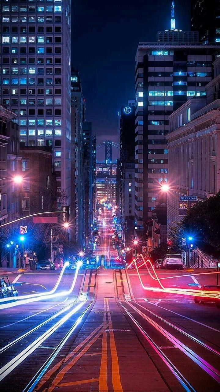 City Night Wallpaper For Iphone And Android Wallpaper More Like This On Wallzapp Com