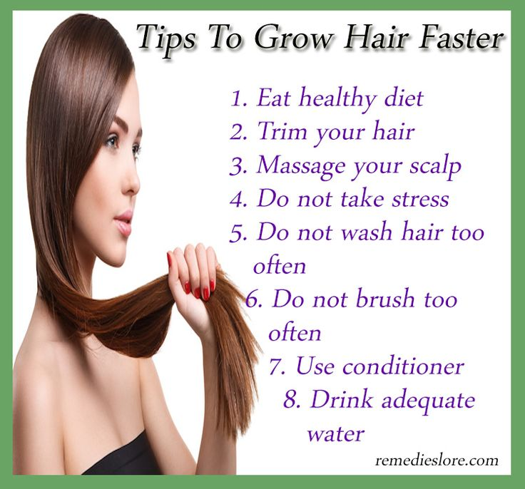 How To Grow My Hair Thicker Naturally