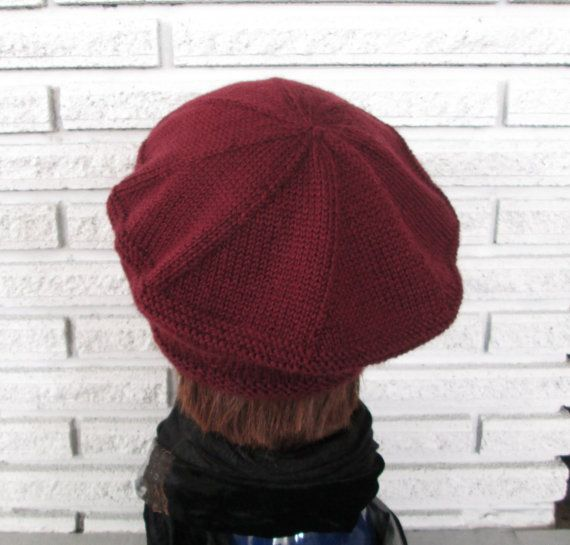 7456ffaf4bdfb PDF knitting pattern beret hat Vera Brittain style Please note this knitting  pattern is an instant download to your computer and not the actual hat The  Vera ...