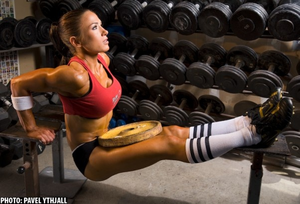 There is something about knee high socks and girls who work out that will forever drive men wild.