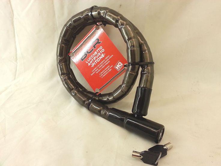 lucchetto a cavo blindato pitone d.25x1200 mm antifurto