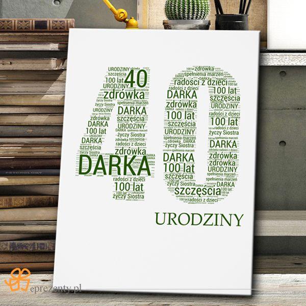 Twoje wyjątkowe słowa na obrazie na płótnie to gwarancja udanej niespodzianki!  http://bit.ly/1Mx6yRS