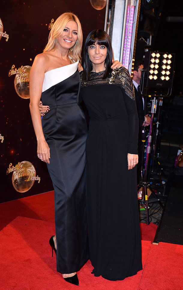 Tess Daly revealed that Claudia Winkleman's daughter is recovering well after her Halloween accident .Strictly come dancing 2014