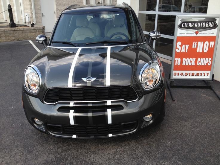 2012 Mini Countryman S Custom Striping At Clear Auto Bra