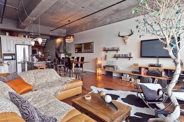 Immobilier de luxe   Achat Loft Montreal Canada   Vente Magnifique Loft Dans L'ancienne Biscuiterie Viau à Montreal