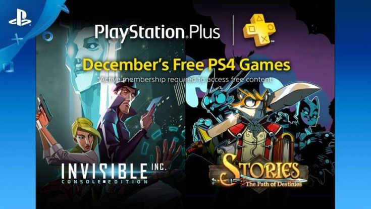 List of free PlayStation games for the month of December 2016