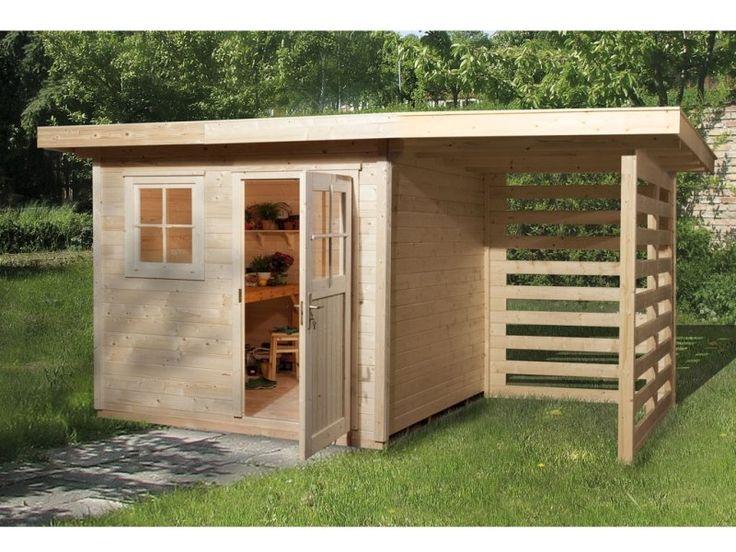 Das WEKA Gartenhaus 170 A Gr. 1 ist mit 28 mm starken Blockbohlenwänden und 1 Dreh-/Kippfenster aus Echtglas ausgestattet.  Die massiven Holzblockbohlen und die extra stabilen Eckverbindungen sorgen dabei für die richtige Stabilität...