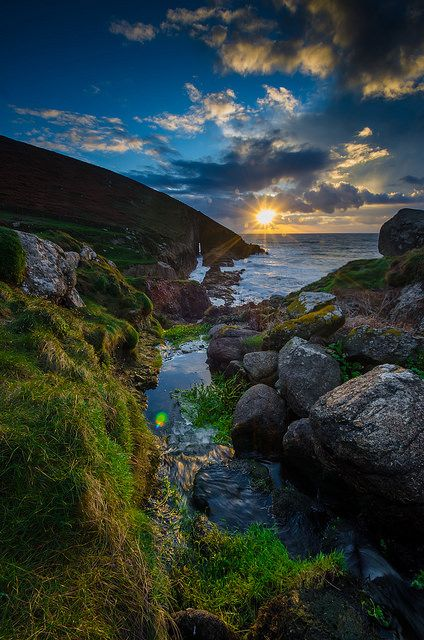 Nanjizal beach ༺✿༺ Cornwall, England, hopefully go this weekend ; )