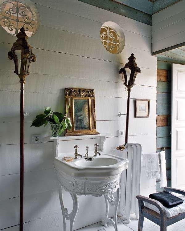 Come arredare un bagno in stile vintage (con immagini