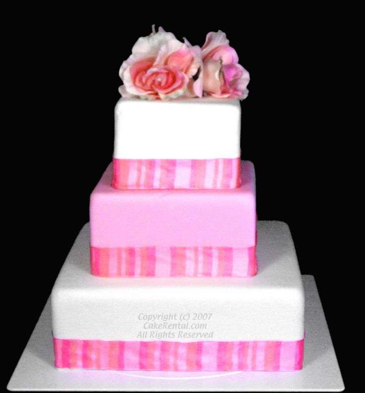 Fake Wedding Cakes For Rent