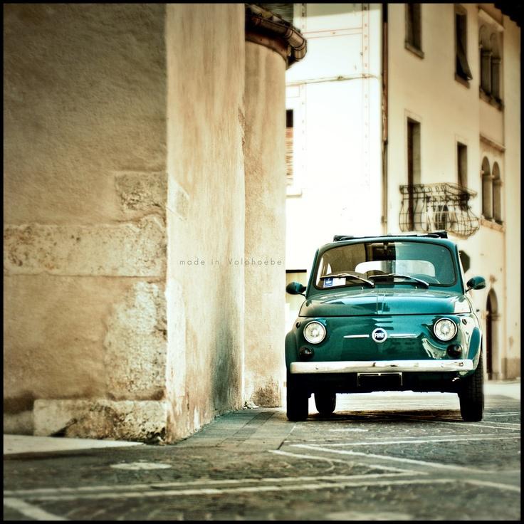 500 Fiat Cabrio by Roberta Fuganti, via 500px