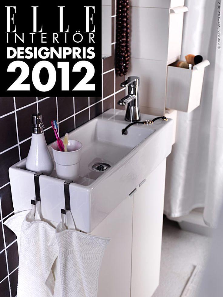 """Badrumsserien LILLÅNGEN i design av Inma Bermúdez utsågs till Årets badrumsprodukt när Elle Interiör igår delade ut pris till """"tretton vinnare av absolut världsklass"""".  Så här skriver redaktionen:"""