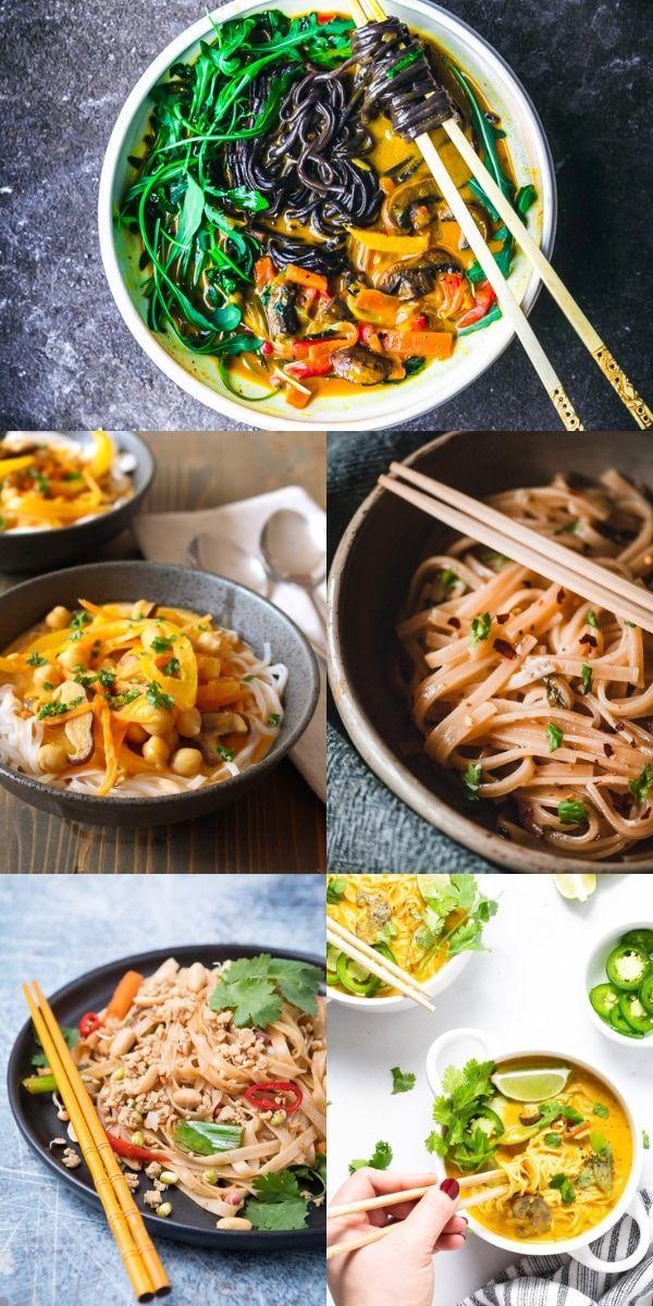 22 Gluten Free Vegan Rice Noodle Recipes In 2020 Rice Noodle Recipes Rice Noodles Vegetarian Rice Noodle Recipes