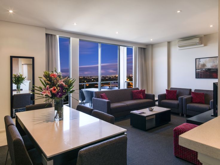 Modern Suite with 3 Bedrooms #Parramatta #Sydney #Luxury #Accommodation #Meriton