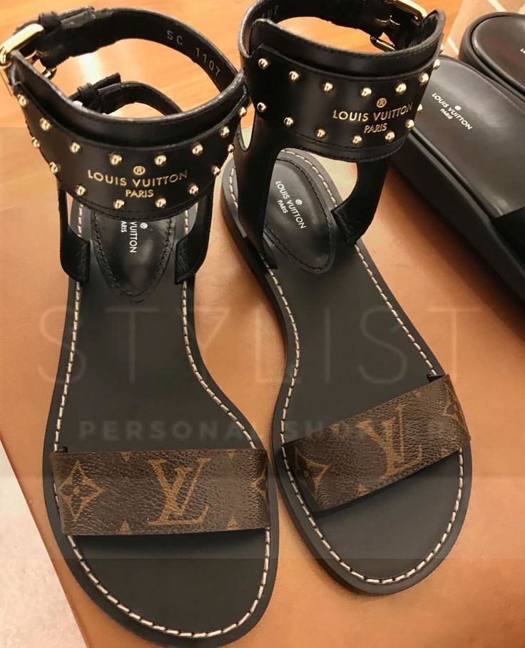 b7b2417fc Loving these Louis Vuitton Sandals aren t you Loves   womensshoes  sandals