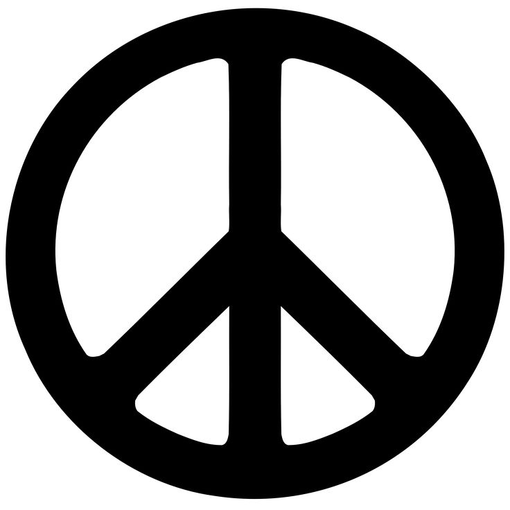 """In the 1950s the """"peace sign"""", as it is known today, was designed by Gerald Holtom as the logo for the British Campaign for Nuclear Disarmament, a group at the forefront of the peace movement in the UK, and adopted by anti-war and counterculture activists in the US and elsewhere."""