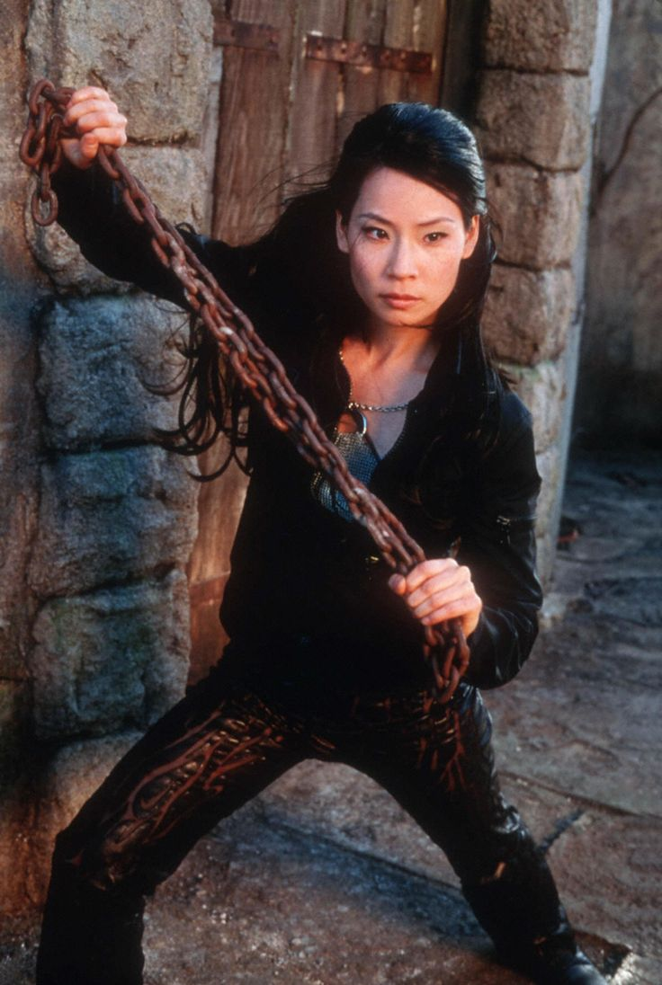 Lucy Liu in Charlie's Angels