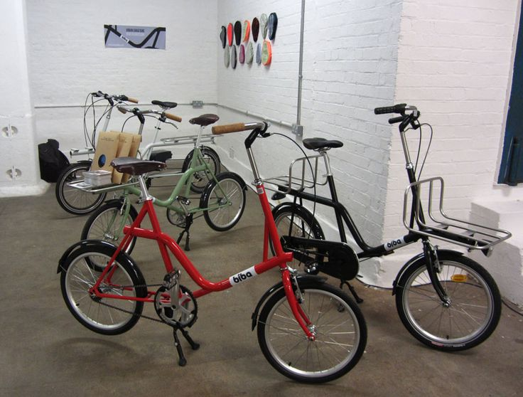Compact Cargo Bike from Urbanbiba