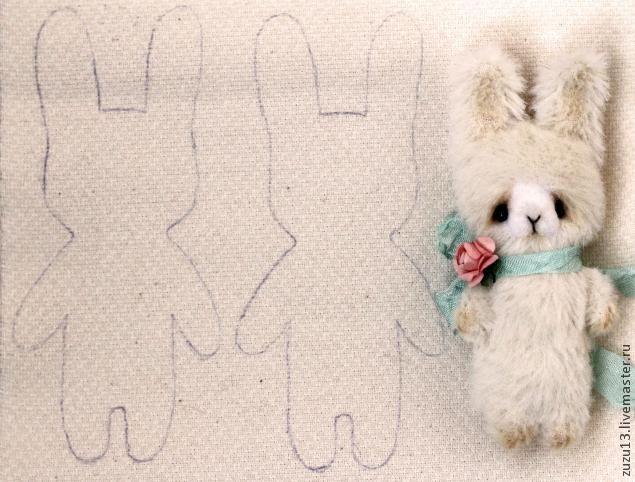 Братцы-кролики. Авторская игрушка в стиле Примитив своими руками - Ярмарка Мастеров - ручная работа, handmade