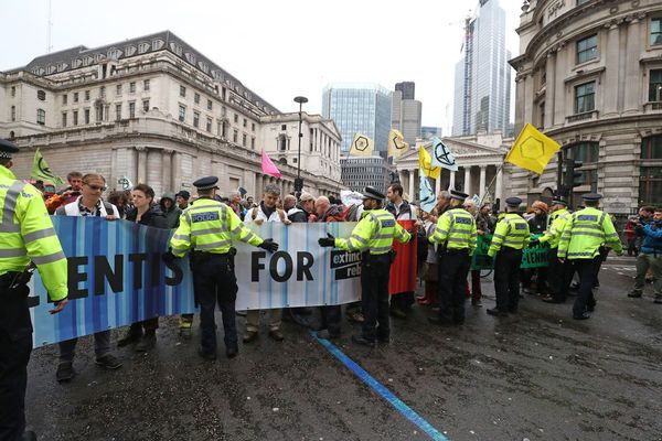 Extinction Rebellion City Of London Protests Live Activists Cause Maximum Disruption As They Target Financial Hub L London City London Protest London Live