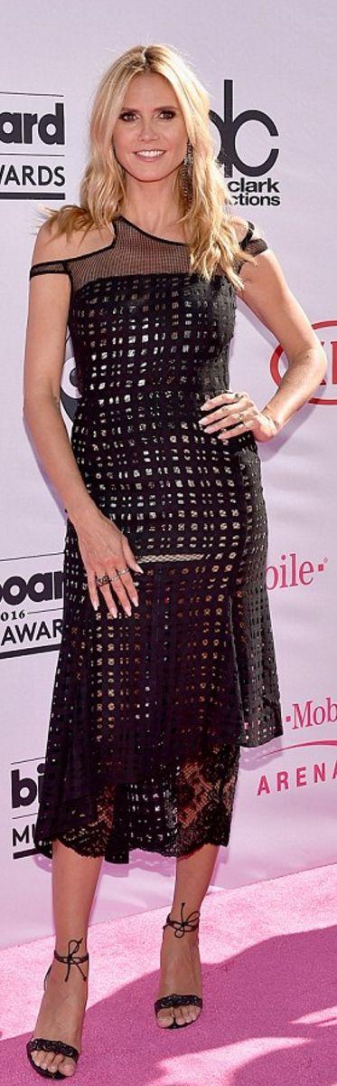 Heidi Klum wearing Alba