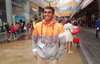 Full Name: Irfan Kolothum Thodi.. breaks national record in Men's 20km Race Walk: 120:21 (Placed 10th among 54 walkers!!!!)  22 years  Country: India  Sports: Athletics  Events: Men's 20 km race walk