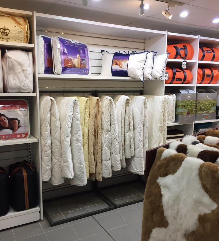 #sfsi #install #Uggattherocks #manchesterandbedding #custom #MAXe #freestanding #white #sidepanels #cabinetry #customdisplayrack #shelving
