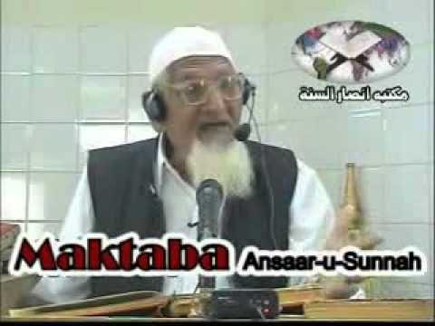 Hazrat Mavia K  Kalay Kartoot......Molana Ishaq Ahmad Ahley Hadees