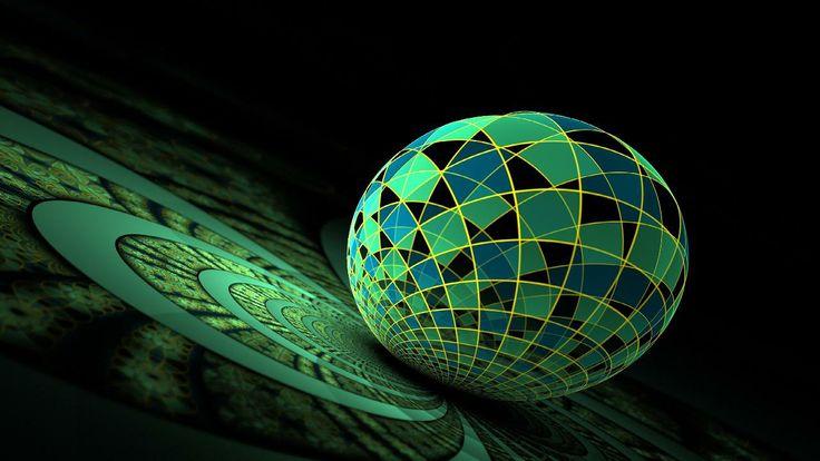 3D Globe View HD Wallpaper