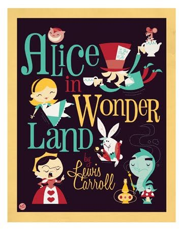 .: Vintage Posters, Books Covers, Rabbit Hole, Covers Books, Alice In Wonderland, Disney, Covers Art, Vintage Art, Aliceinwonderland