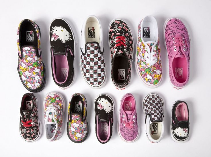 Hello Kitty Vans!