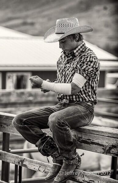 Toughest boys are rodeo boys ...