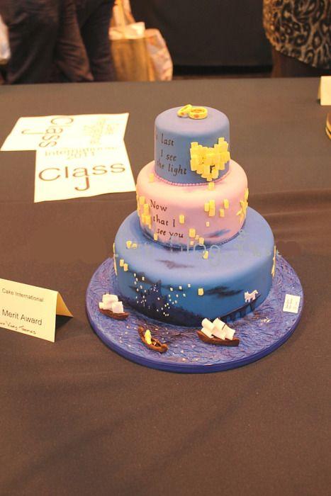 Rapunzel / Tangled Cake. Amazing  i think we found the cake!