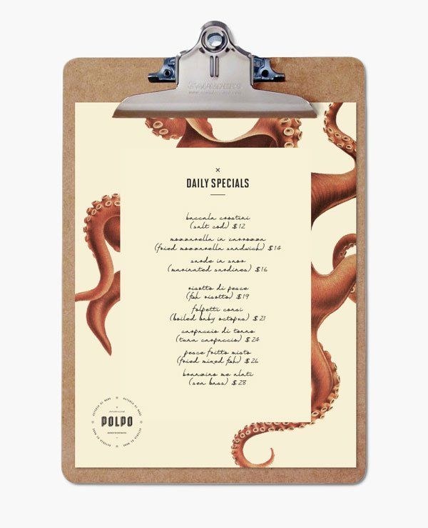 20 Impressive Restaurant Menu Designs. Lamond Commercial Kitchens and Bars: www.lamondcatering.com Love the way we think? Then you will love working with us! Commercial kitchen and commercial bar design and install: refrigeration, kitchen gear and custom stainless steel. Phone: 1800610004 #lamondkitchens