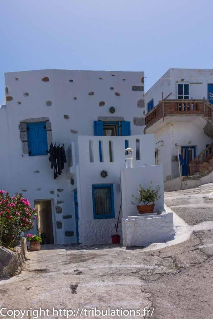 Les maisons traditionnelles dans Chora