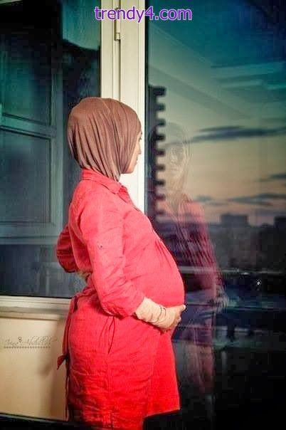 Hijab Style For Pregnant Womens 2014