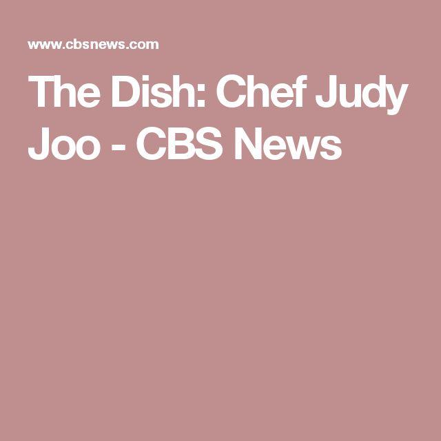 The Dish: Chef Judy Joo - CBS News