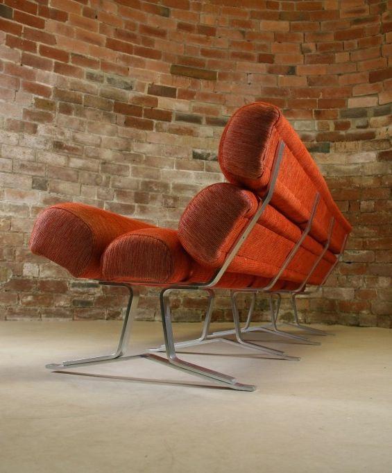 William Plunkett; #WP01 Aluminum Sofa, 1966.