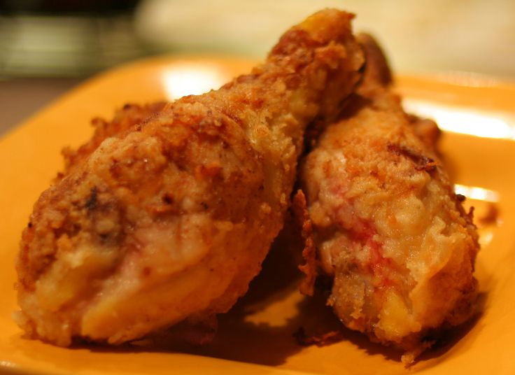 Fried chicken is the best, but it's nice and fattening. This recipe is definitely not healthy, but it's much healthier than actual fri...