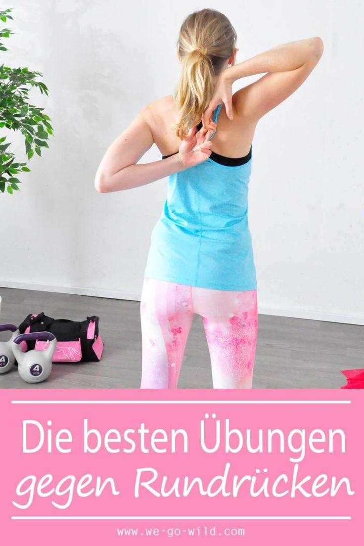 17 Übungen gegen Rundrücken – effektives Hyperkyphose Workout – Julia brehm