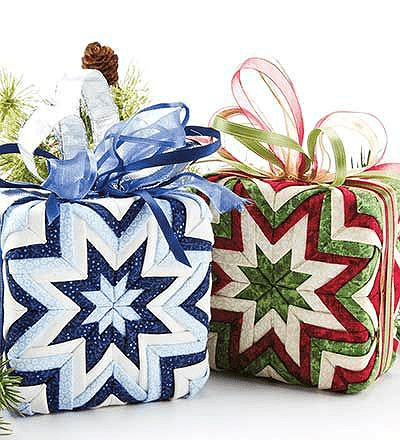Gift Box No-Sew Ornaments
