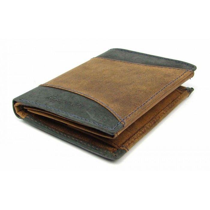 Kožená peněženka pánská moderní - peněženky AHAL