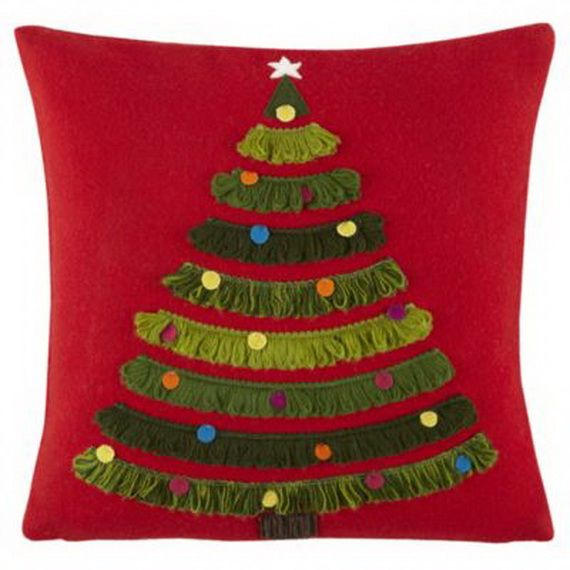 Gorgeous Handmade Christmas Pillow Inspirations_72