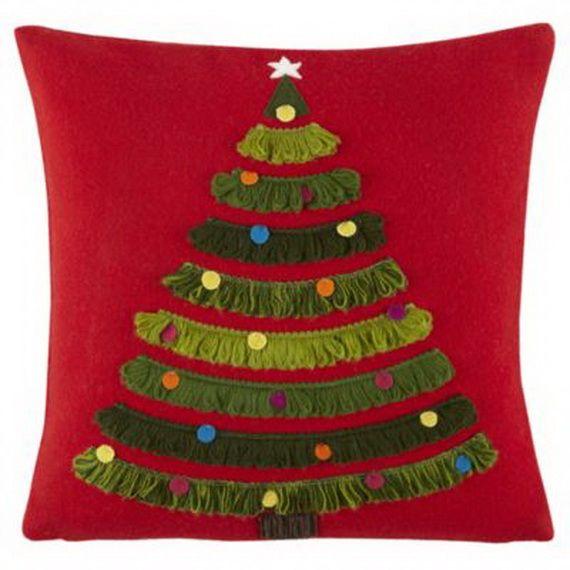 Gorgeous Handmade Christmas Pillow Inspirations_72
