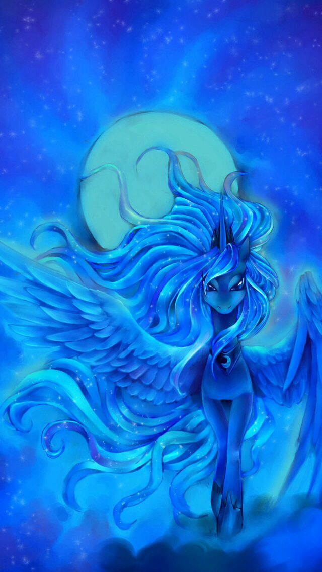 princess luna is so beautiful