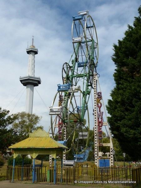 Parque de la Ciudad (Park of the City) abandoned amusement park in Buenos Aires, Argentina.