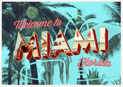 Resultado de imagen para welcome to miami sign