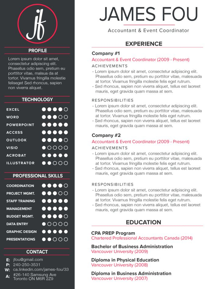 21 best CV images on Pinterest Design resume, Resume design and - pip template
